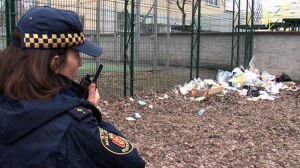 Strażnicy szukają nielegalnych wysypisk