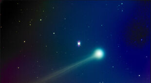 Ewolucja komety ISON (Mike Hankey, Monkton MD/mikesastrophotos.com)