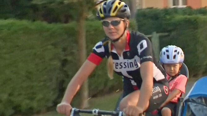 Mama na rowerze...z synkiem. 600 km w 12 dni