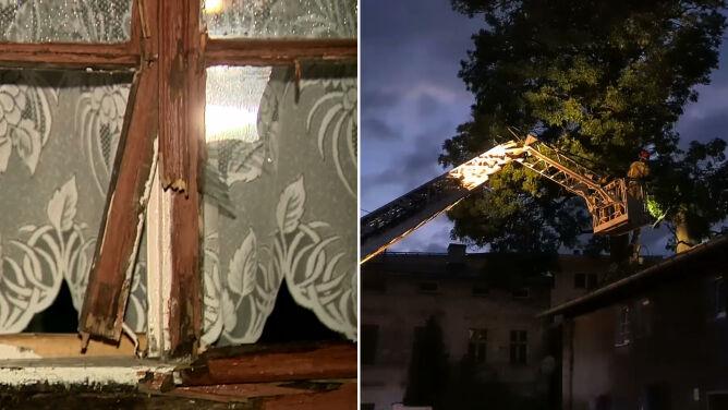 """""""Wiata przeleciała działkę, wybiła kilka okien, przebiła drzwi, zniszczyła rynny"""""""