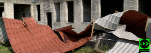 """Na Podlasiu potężny wiatr zrywał dachy. """"Największa nawałnica, jaką widziałem"""""""