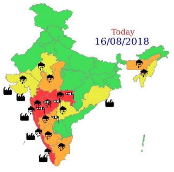Ostrzeżenia meteorologiczne dla Indii na piątek (IMD)