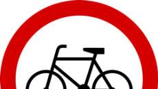 """B-9 (""""zakaz wjazdu rowerów"""")"""
