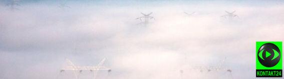 Śląsk i Kujawy spowite mgłami