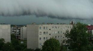 Burza w Ostródzie (TVN24)
